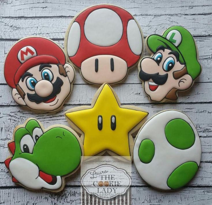 Super Mario!#icingcookies#sugarcookies #アイシングクッキー