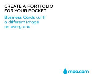 Create a Portfolio for your Pocket with Business Cards from moo.com