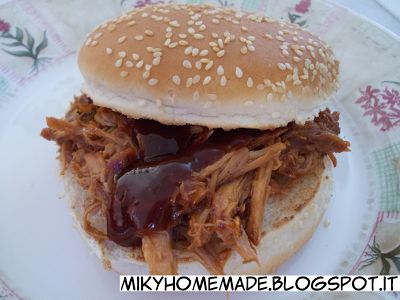 ...Miky homemade...: Pulled pork, maiale sfilacciato con slow cooker