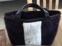 Inuit made sealskin purse