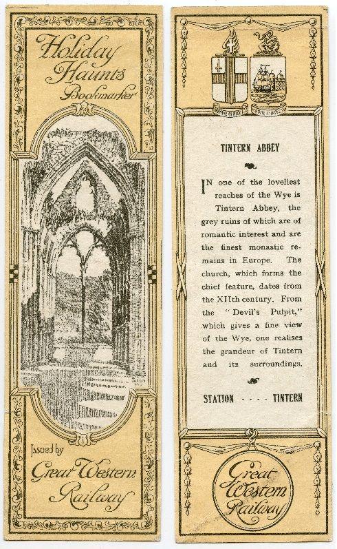 Great Western Railways - Tintern Abbey