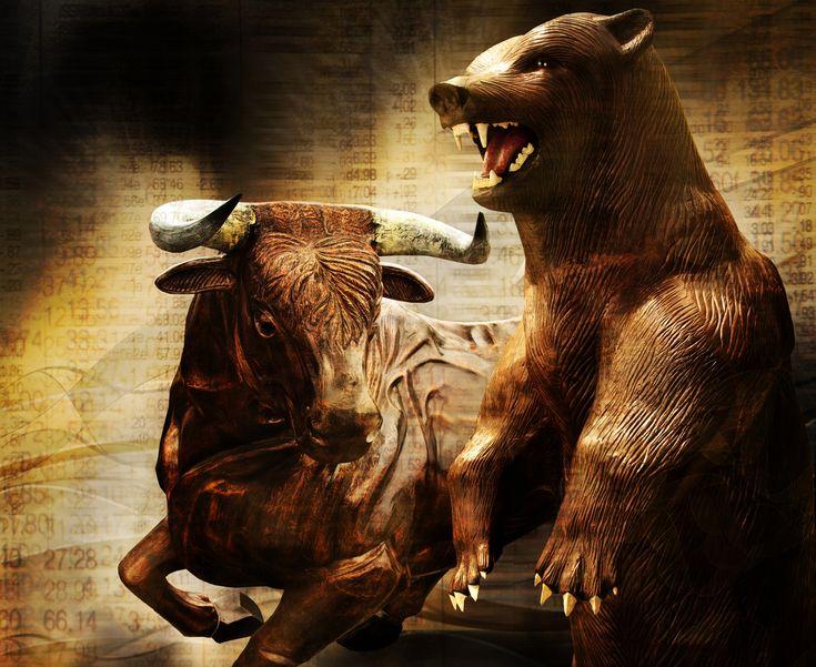 заборов профнастила, картинки бык и медведь перемерил кучу
