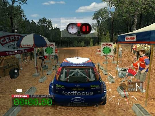 Colin McRae Rally 3 Game Screenshots