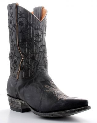 Men's Annie Black boots, by Old Gringo.