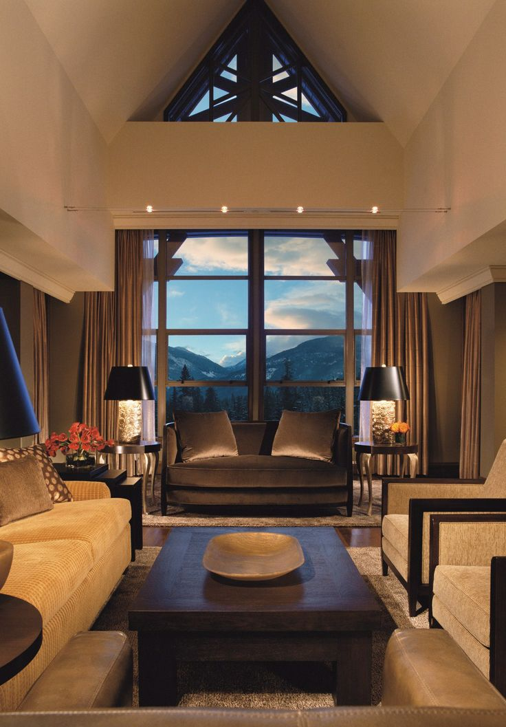 Unwind amid the mountains at Four Seasons Resort Whistler.