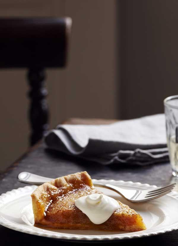 Tom Kerridge's brioche treacle tart