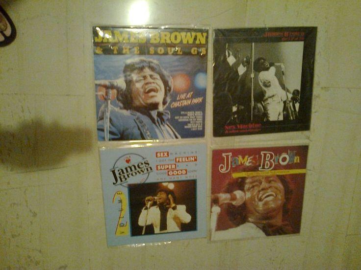 4 records James Brown wholesale lot SUPER PRICE