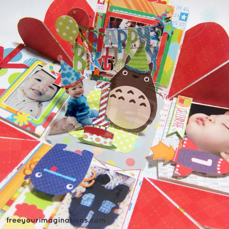 Totoro explosion box