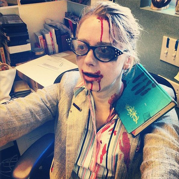 21 literary costumes for hardcore book lovers - Naughty Librarian Halloween Costume