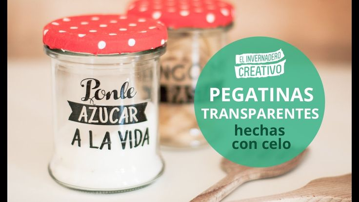 Cómo hacer pegatinas transparentes - How to do transparent stickers