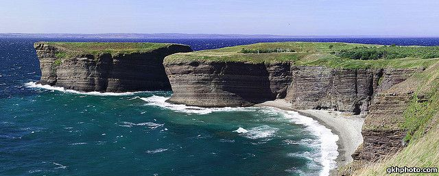 Bell Island is a Canadian island located off Newfoundland's Avalon Peninsula in Conception Bay