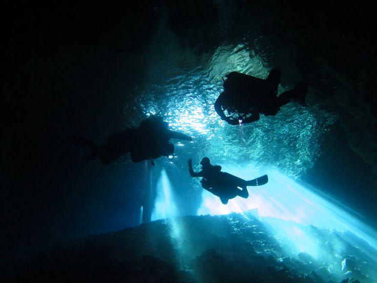 TDI Cavern Diving Training in Yucatan, Mexico