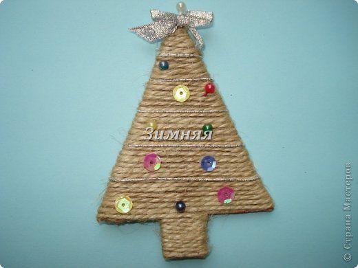 Всем привет! Теперь я знаю что будет приложением к новогодним подаркам моим родным и близким- это маленькие елочки-магнитики. фото 4