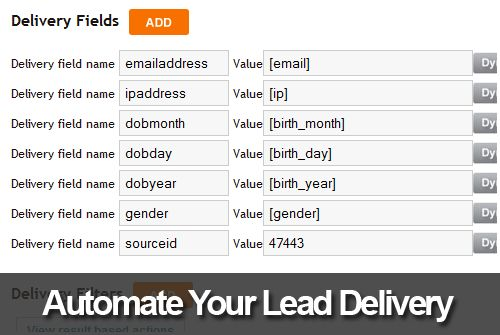 automate leads delivery