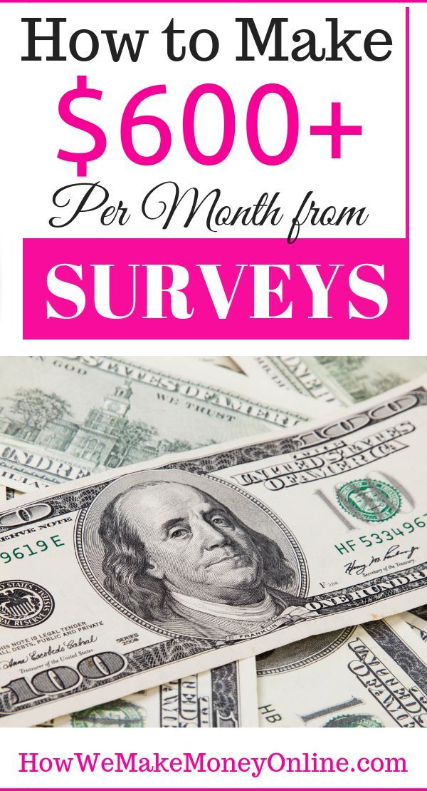 How To Make 600 Per Month From Surveys Month Paidsurveys