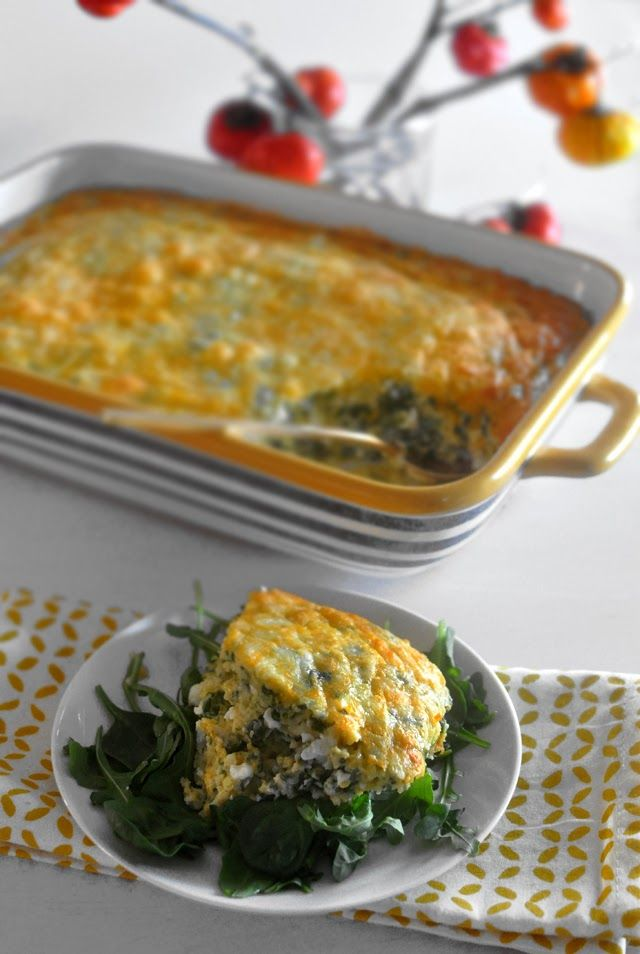 Spinach and Cheese Souffle | Mogwai Soup