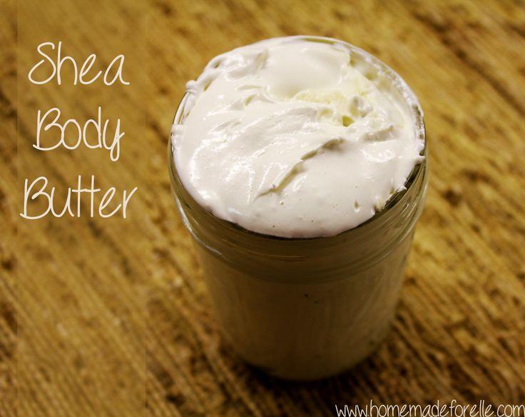Decadent Shea Body Butter - Homemade for Elle