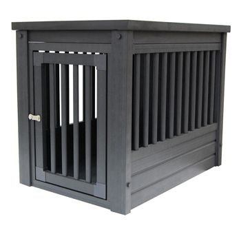 New Age Pet Eco-Concepts Espresso InnPlace Table & Dog Crate at PETCO