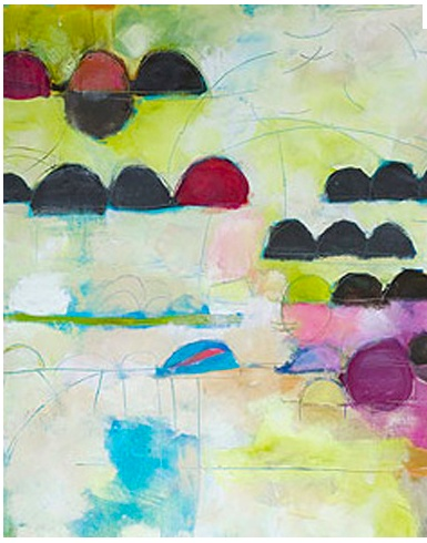 our favorite local painter Therese Murdza