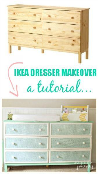 IKEA Hack: Tarva dresser makeove a full tutorial...you can do it too!