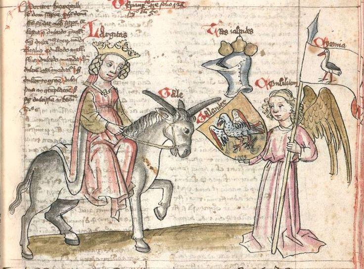 Speculum humanae salvationis. Memento mori-Texte [u.a.] Bayern - Österreich, I: zwischen ca. 1440 - 1466, II: um Mitte 15. Jh., III: 2. Viertel 15. Jh. Cgm 3974  Folio 80