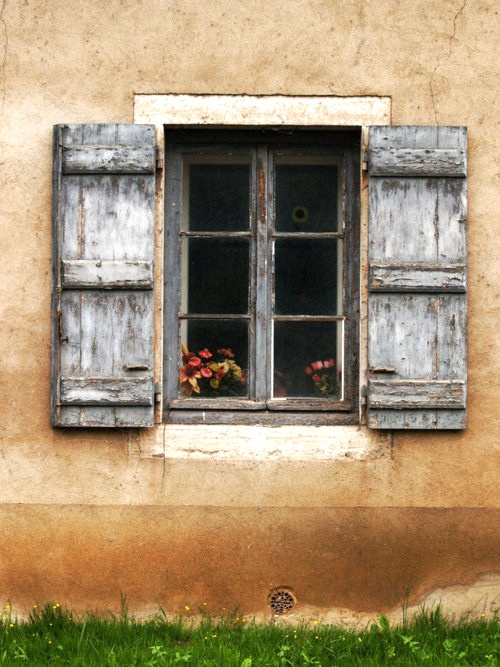 1000 images about wood shutter on pinterest rustic wood - Exterior wooden shutters for windows ...