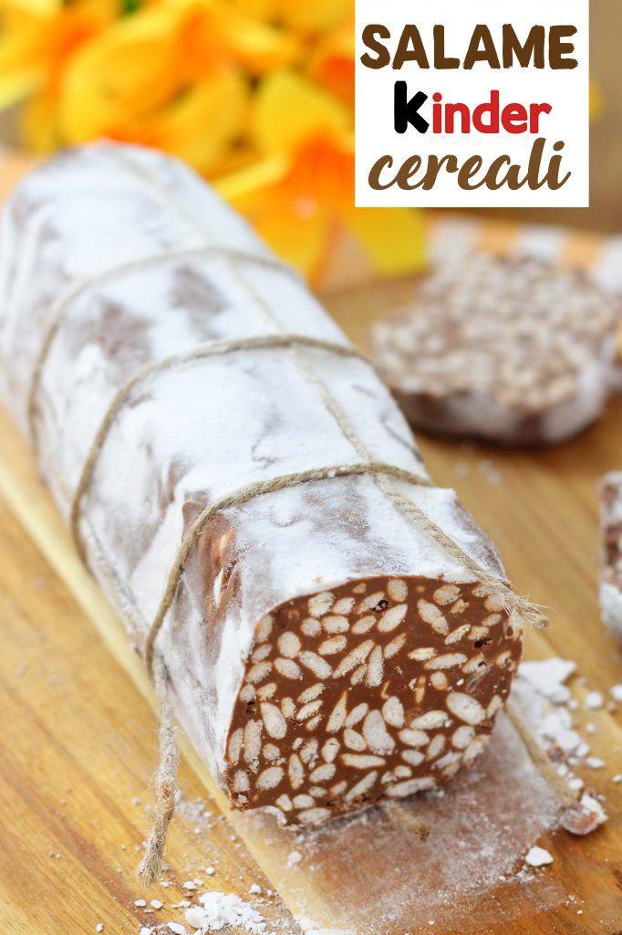 Salame Di Cioccolato E Riso Soffiato Recept étel és Ital