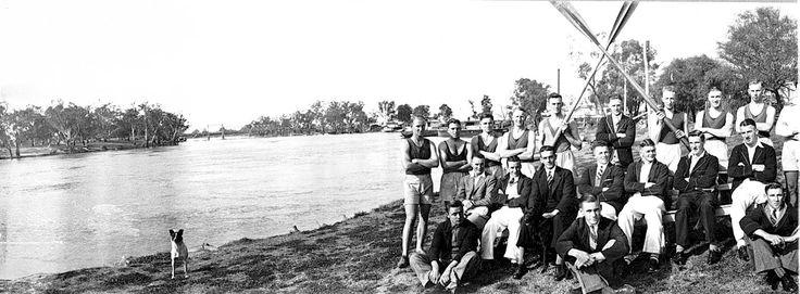 Mildura Rowing Club c1935