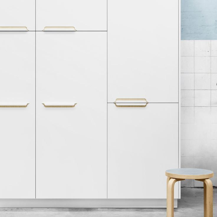 Reform Kitchen / Design by Sigurd Larsen / SLA / Home / Interior / Design / Sigurd Larsen's kitchen design for Reform in aluminium with a powder coating in white or anthracite. It's an IKEA hack.