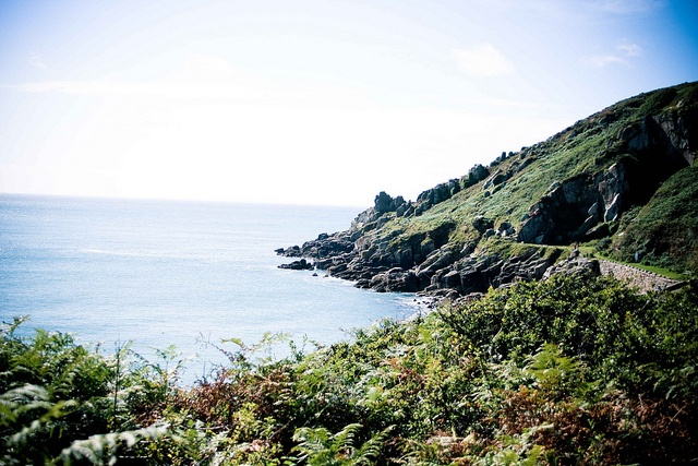 Lamorna Cove by b4be, via Flickr  The Cornish coast. The end of the country. Windswept, wild- another world.