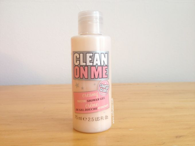 Review shower gel clean on me soap and glory
