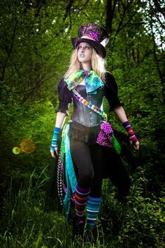 female mad hatter costumes - Google Search                                                                                                                                                                                 More