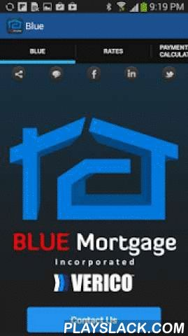Blue Mortgage  Android App - playslack.com ,  The BLUE Mortgage's easy to use app allows Canadians to make smart decisions about their Mortgage financing while they shop for their next mortgage.During the last 9 years of my carrier as a Mortgage Professional, I had been facing the following issues:1. To offer/terminate any Special Rate or Program, I had to email those to my clients2. To calculate the Affordability for clients whose Credit were Good, I had to do that myself as all of the…