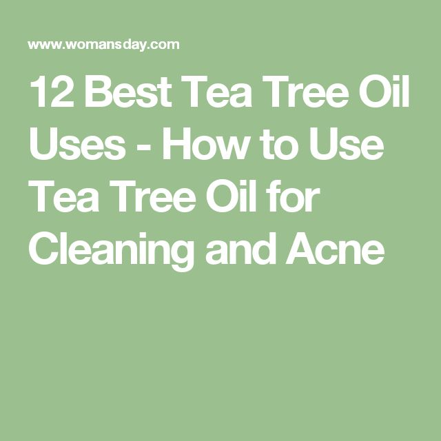 12 Best Tea Tree Oil Uses - How to Use Tea Tree Oil for Cleaning and Acne