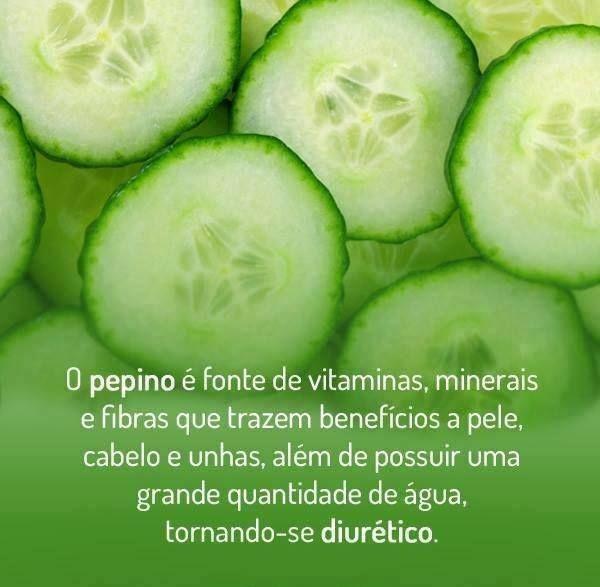 #Benefícios do #pepino. Saiba como fazer mais coisas em http://www.comofazer.org