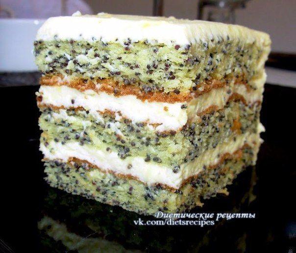 http://core-business.ru Творожно-маковый диетический торт на 100грамм - 99.14 ккалБ/Ж/У - 9.91/4.94/3.38 Ингредиенты: Творог обезжиренный - 300 г Яйца - 6 шт Молоко 1% - 1 ст Отруби овсяные - 6 ст....