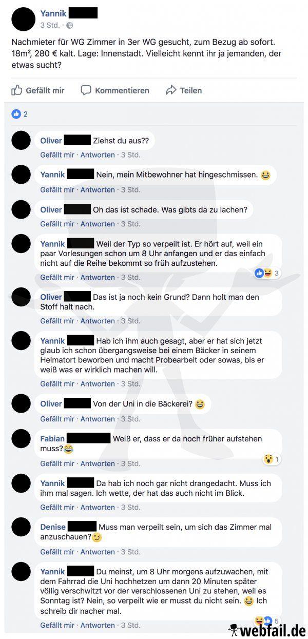 Der frühe Student fängt keinen Wurm - Facebook Fail des Tages 18.04.2018   Webfail - Fail Bilder und Fail Videos