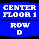 Ticket  1-4 TIX THE COMEDY GET DOWN 2/18 FLOOR 1 ROW D AMWAY CENTER ORLANDO #deals_us