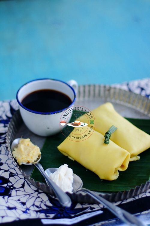 Indonesian Sweets: Unique DURIAN PANCAKE. A blog guest post for Asian in America