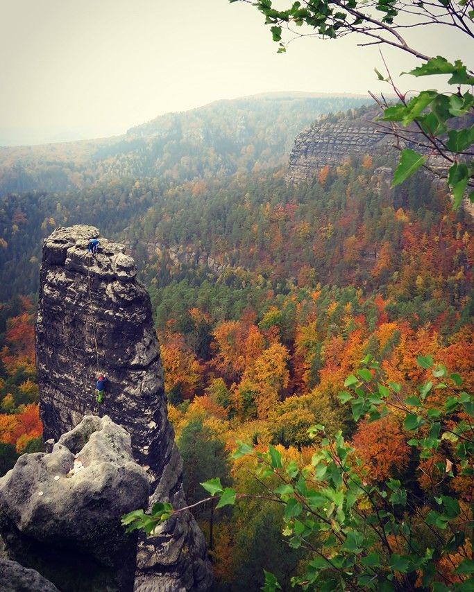 České Švýcarsko (Czech Switzerland) - autumn
