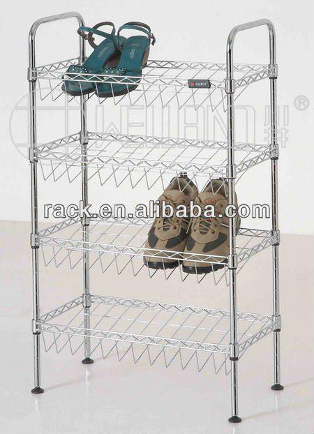 Adjustable Metal Kids' Shoe Rack Wholesale , DIY & K/D Style $10~$15
