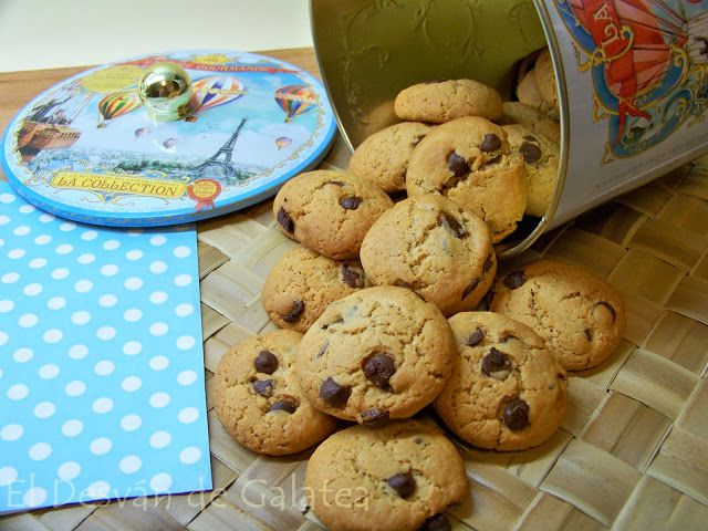 COOKIES DE CANELA CON PEPITAS DE CHOCOLATE