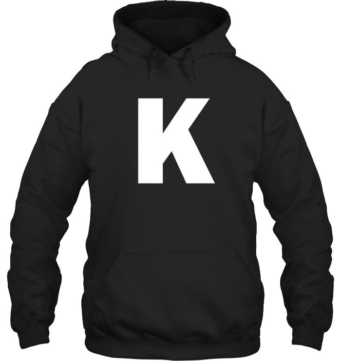 Capital Letter K Alphabet T-Shirt