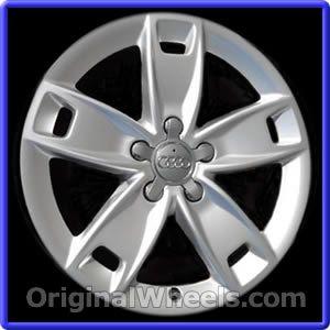 OEM 2009 Audi A3 Rims - Used Factory Wheels from OriginalWheels.com #Audi #AudiA3 #A3 #2009AudiA3 #09AudiA3 #2009 #2009Audi #2009A3 #AudiRims #A3Rims #OEM #Rims #Wheels #AudiWheels #AudiRims #A3Wheels #steelwheels #alloywheels