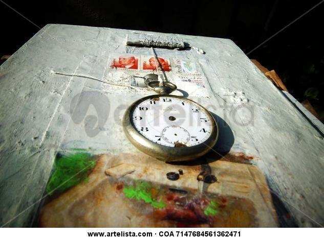 Arte Materico  Obra:  EN BUSCA DEL TIEMPO PERDIDO CON KRIS By Adolfo Vásquez Rocca  http://www.artelista.com/obra/7147684561362471-en-busca-del-tiempo-perdido-homenaje-a-proust.html