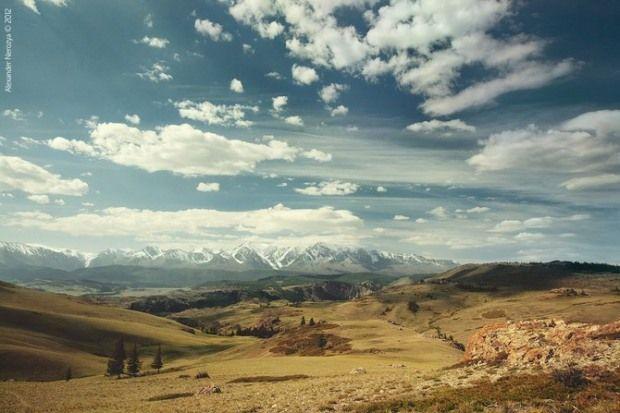 Altai Mountains by Alexander Nerozya