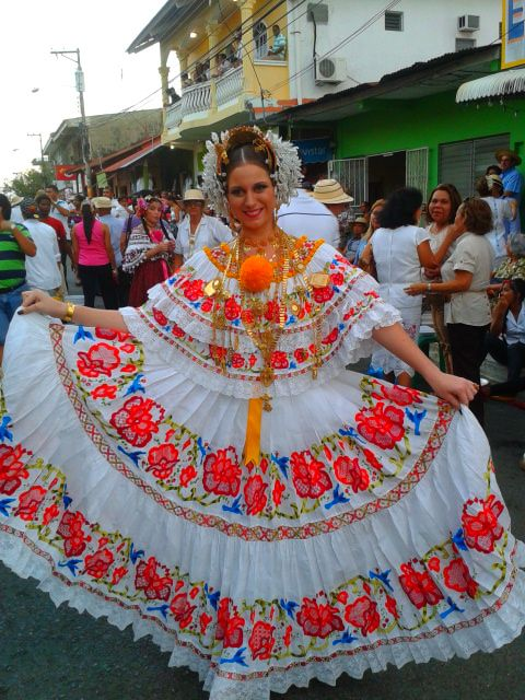 pollera--Panama will always be an inspiration