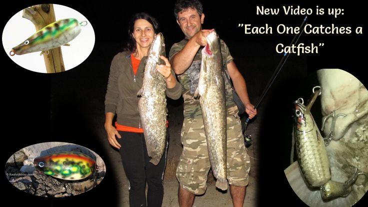 2016. Catfish fishing video: each one catches her/ his catfish:  https://youtu.be/SJtJtVQlPzI  #fishing #angling #catfish #skinlure #bellylure #topwaterlure #realwobbler #lures #lurefishing #customlures #handmadelures #woodenlures #crankbait #swimbaits #angeln #spinnfischen #wels #waller #kunstköder #wobbler #pesca #siluro #señuelos #pescadeportiva #риболов #сом #воблер #рибалка #спиннинг #fishingvideo #videopesca