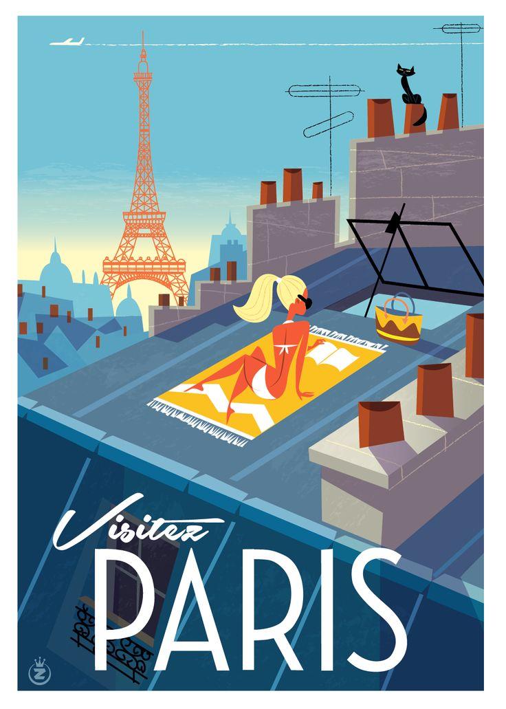 Richard Zielenkiewicz: Paris au soleil