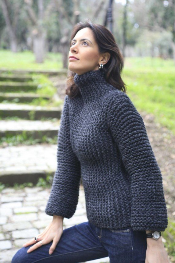 SCULPTURE SWEATER van NihanAltuntas op Etsy